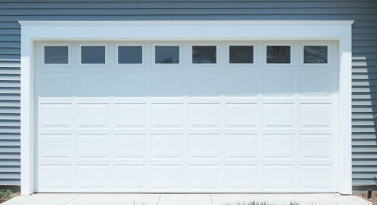 classic steel garage door